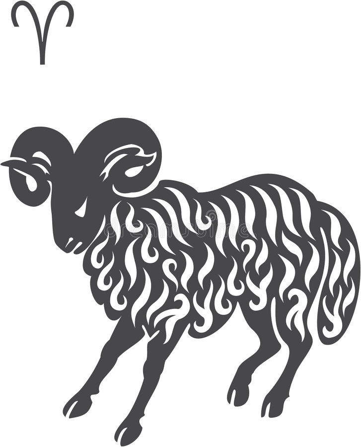 Aries stock illustration