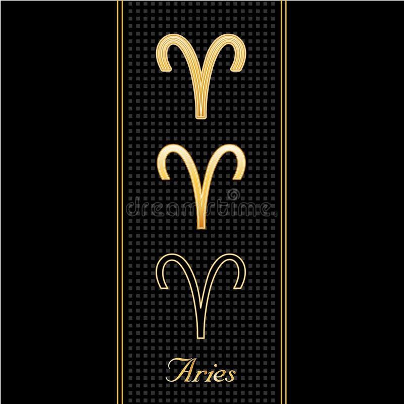 aries horoscope symbols бесплатная иллюстрация
