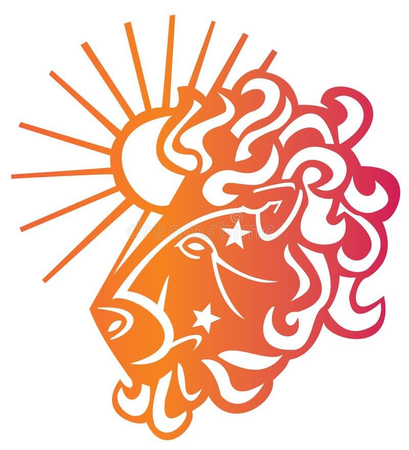 Download Aries Zodiac Sign stock illustration. Illustration of fantasy - 12301700