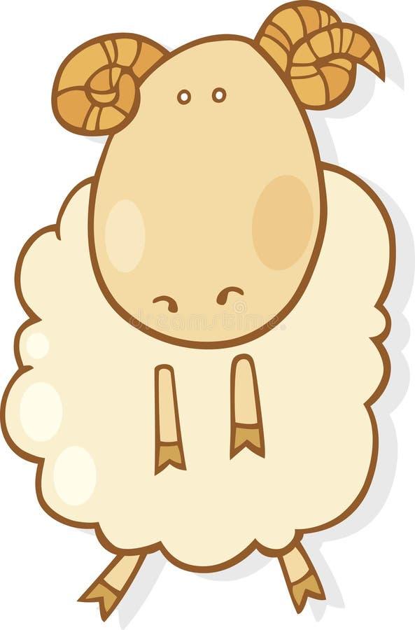 Download Aries zodiac sign stock vector. Image of humor, aries - 7314687