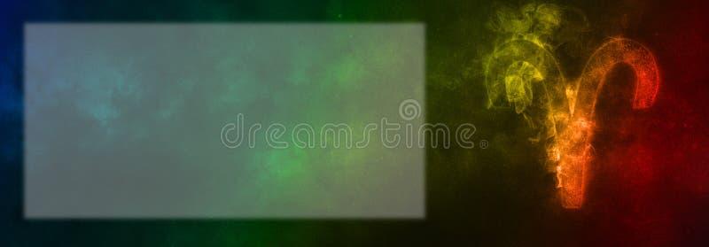 Aries Zodiac Sign Segno dell'oroscopo dell'Ariete Stanza del testo del modello immagini stock libere da diritti