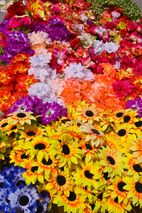 Arificial Flowers royalty free stock images