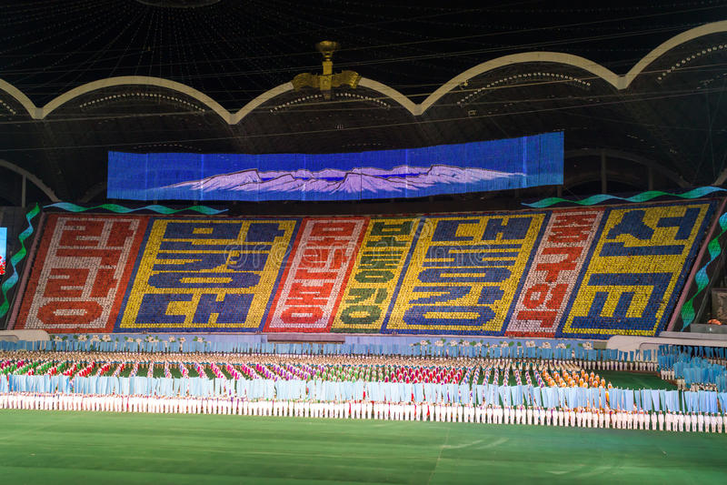 Download Arirang Mass Games 2011 In DPRK Editorial Image - Image: 28980580