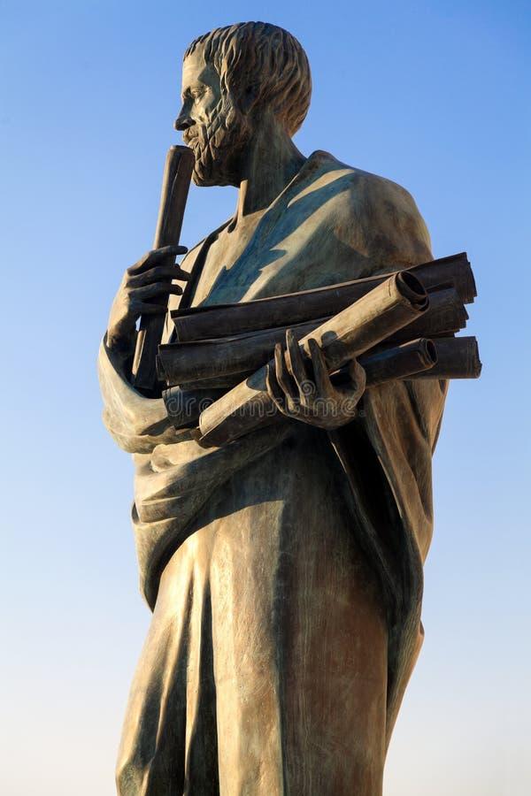 Aristotle (384-322) obraz stock