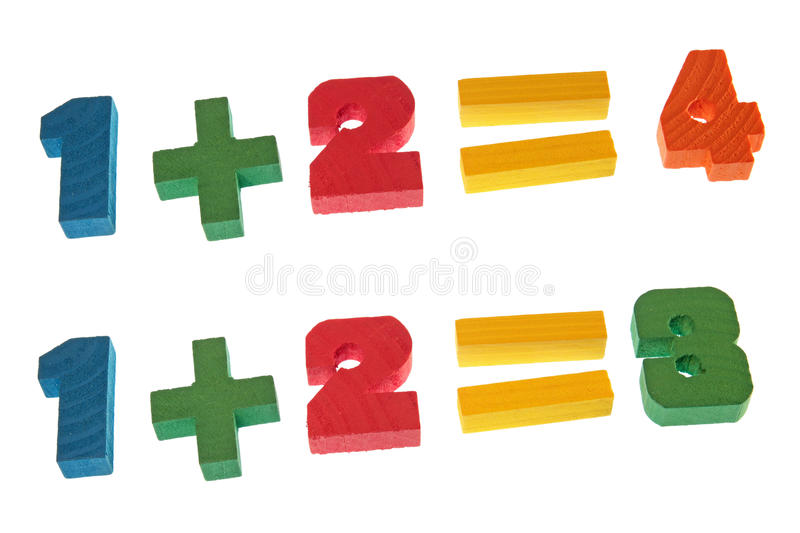 Arithmetic royalty free stock image