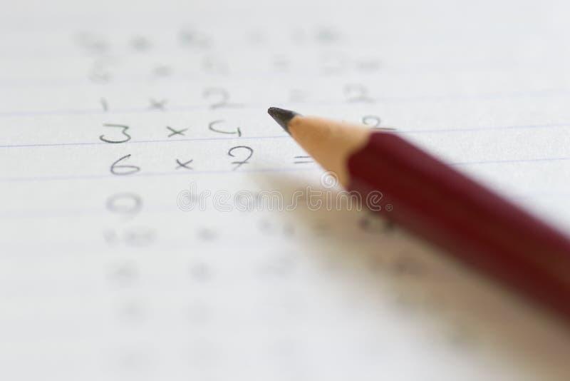 arithmetic royaltyfri foto
