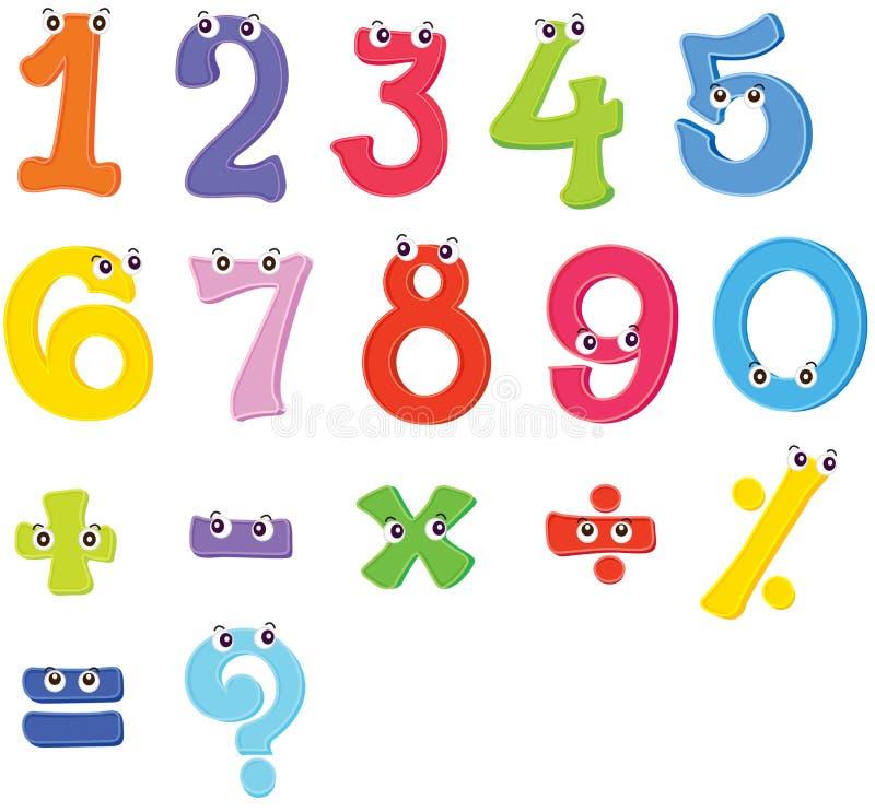 Arithmetic stock illustration