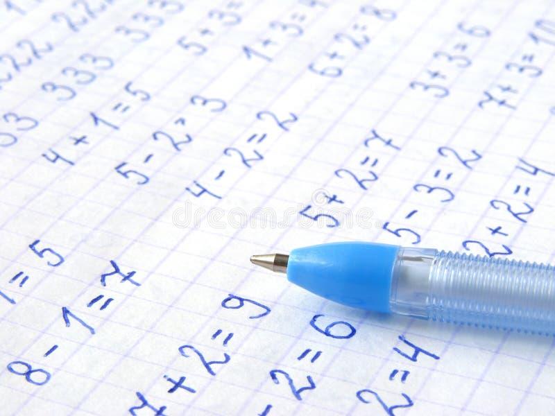 Aritmetico immagine stock