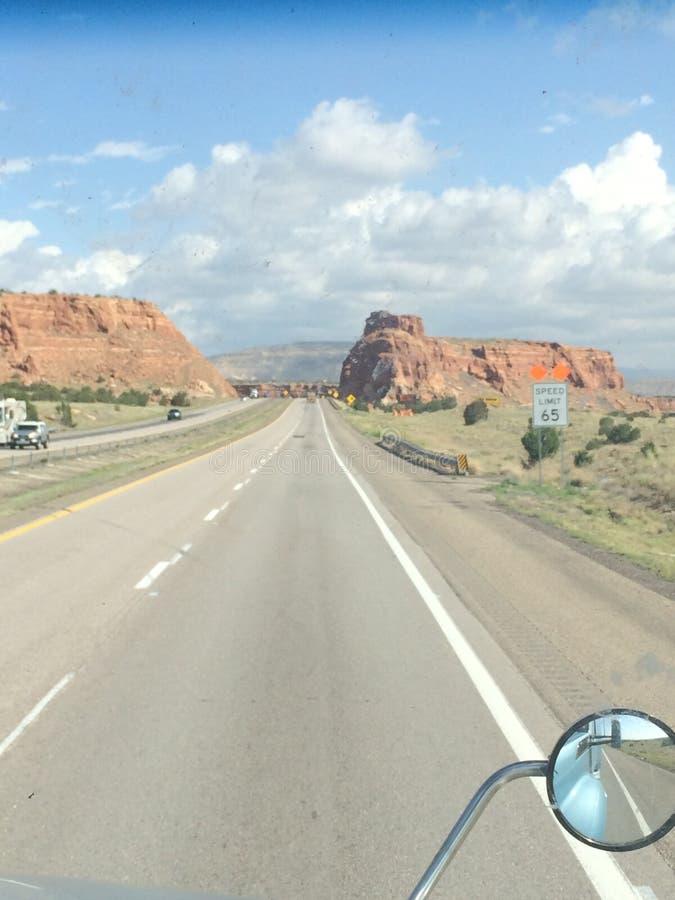 Arizona autostrada zdjęcia royalty free