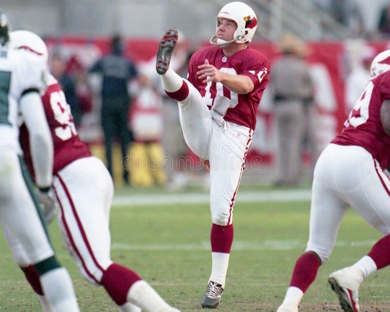 Arizona Cardinals Punter Scott Player. Image taken from color negative stock photos