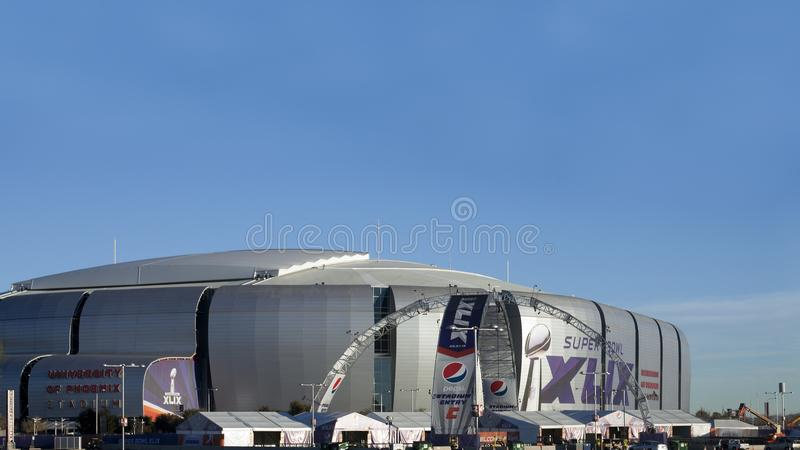 Arizona Cardinals Stadium royalty free stock photo