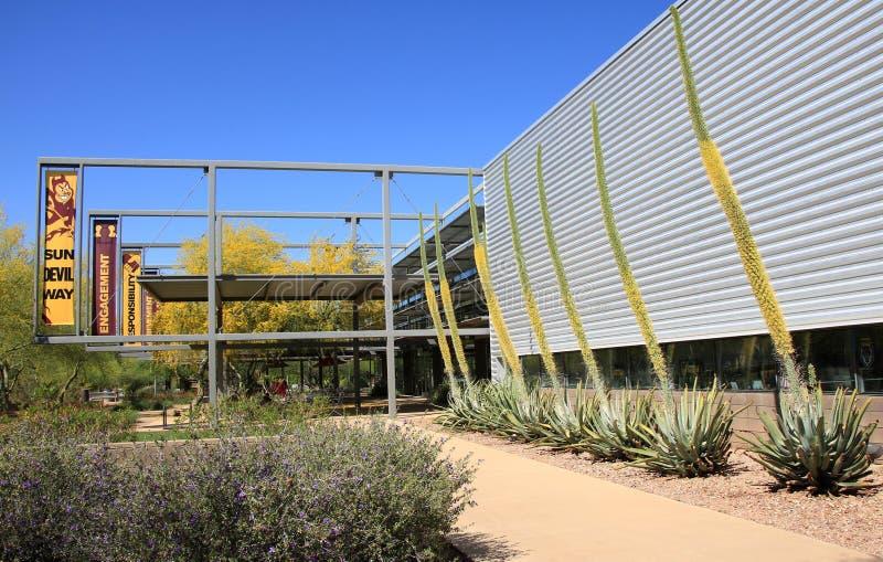 Arizona delstatsuniversitet royaltyfri foto