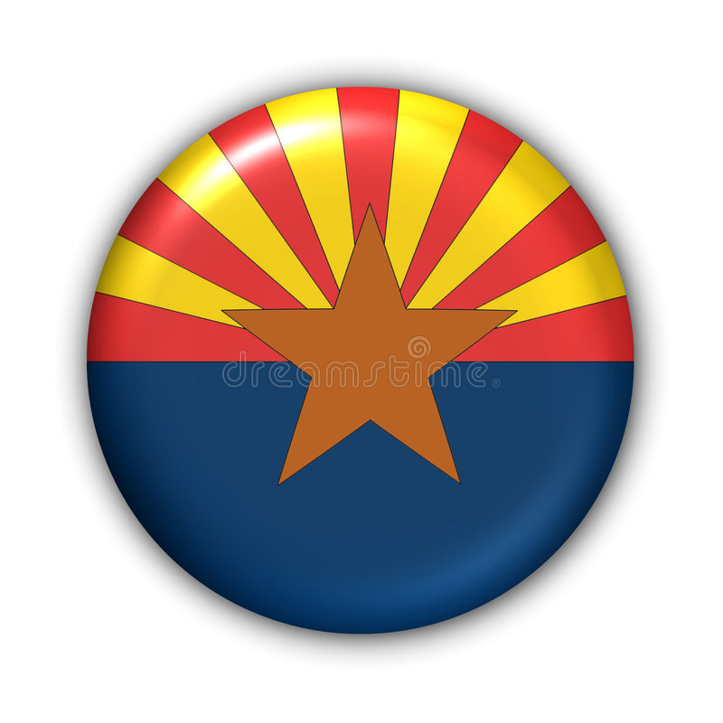 Download Arizona Flag stock illustration. Illustration of america - 104455