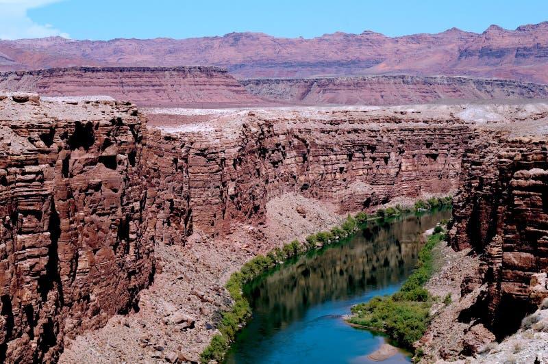 Arizona-Fluss stockfotos