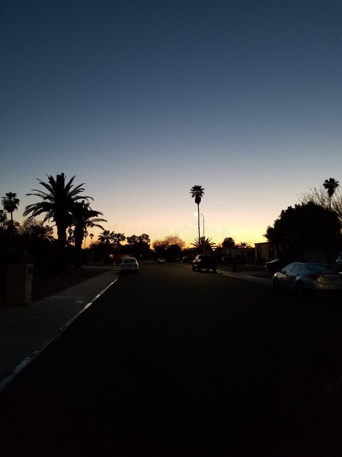 Arizona-Himmel lizenzfreie stockfotos