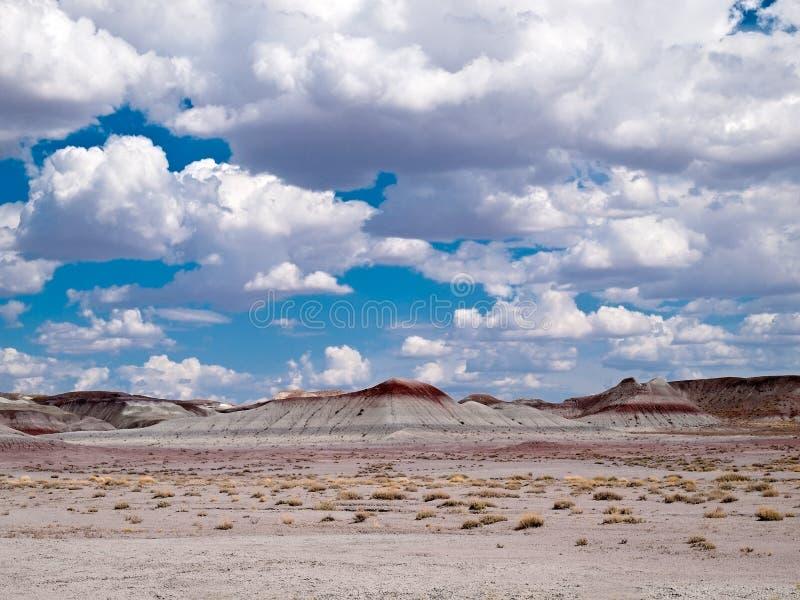 Arizona-Himmel und Land stockfoto