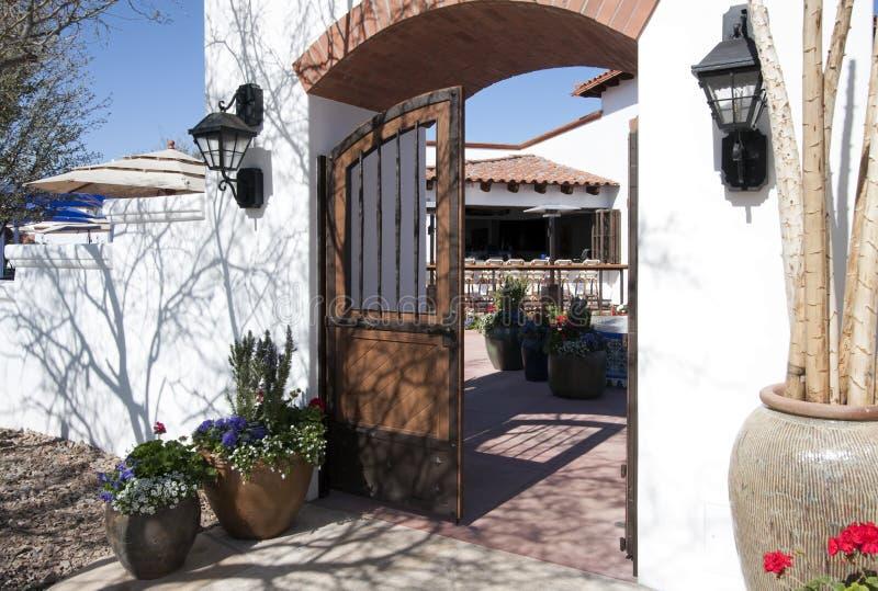 arizona historisk home restaurang royaltyfri bild