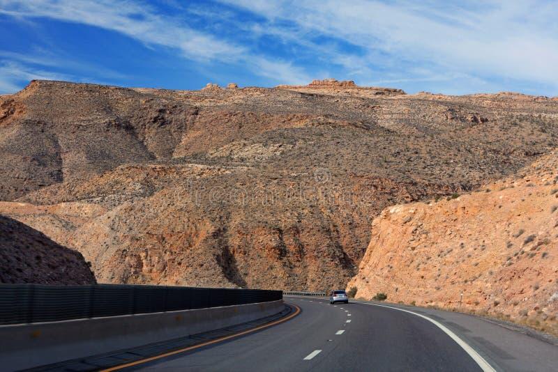 arizona huvudväg arkivbilder