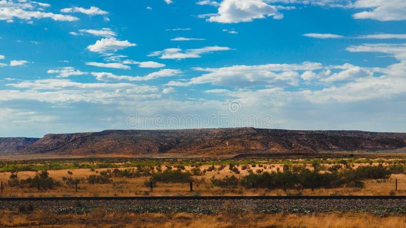 Arizona jaru formacj niebieskich nieb chmury obrazy royalty free