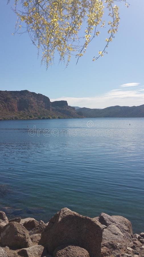 Arizona jezioro obraz stock