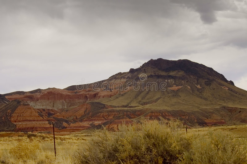 arizona kolorowe ziemi zdjęcie royalty free