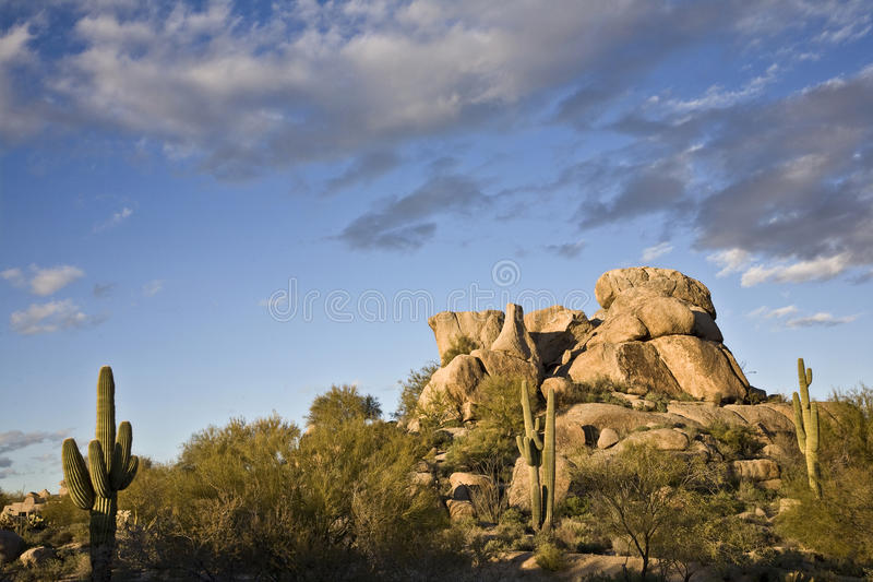 Arizona-Landschaft lizenzfreies stockfoto
