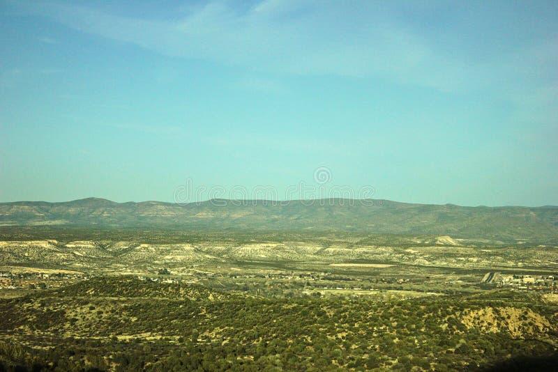 Arizona-Landseitenpanorama stockbilder