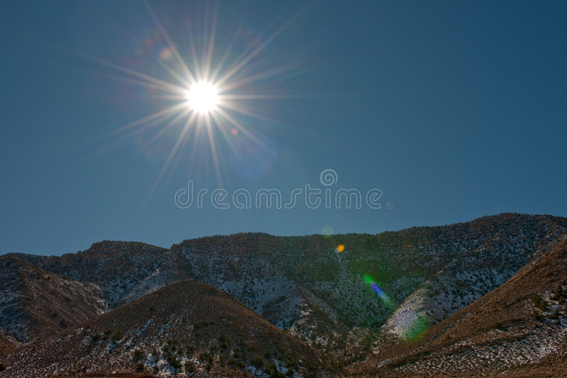 arizona liggandevinter arkivfoton