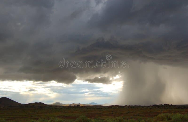 Arizona-Monsun lizenzfreies stockbild