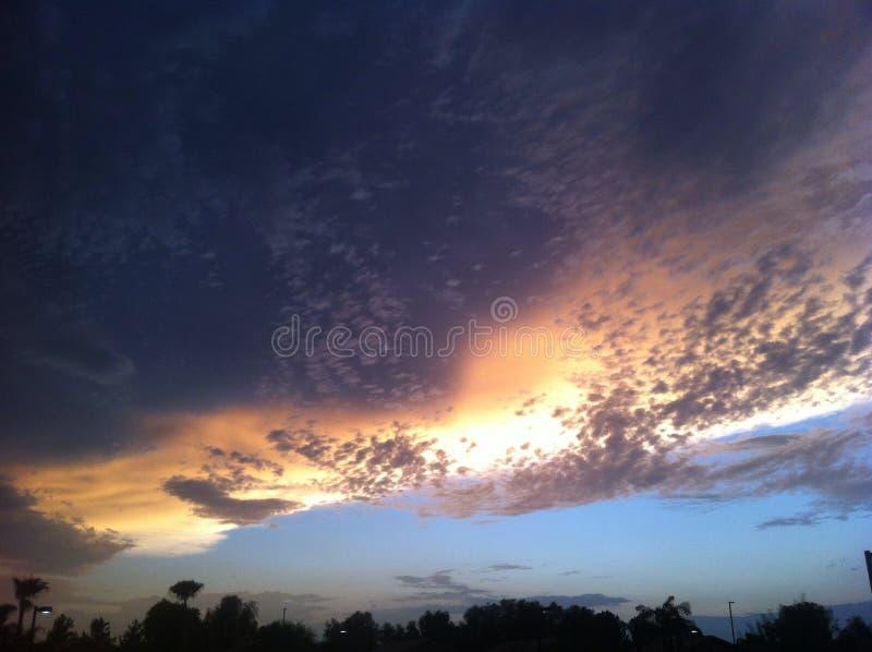 Arizona niebo fotografia stock