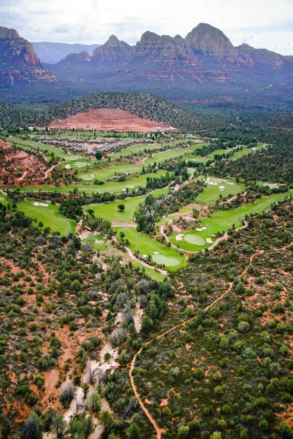 Arizona - país del golf imagen de archivo