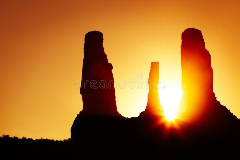arizona pomnikowi doliny usa zdjęcie stock