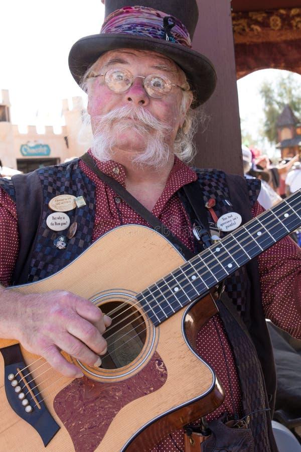 Arizona-Renaissance-Festival-Entertainer lizenzfreie stockfotografie