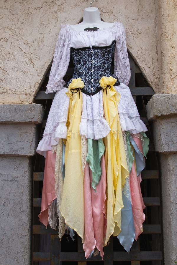 Arizona-Renaissance-Festival-Kostüm lizenzfreies stockfoto
