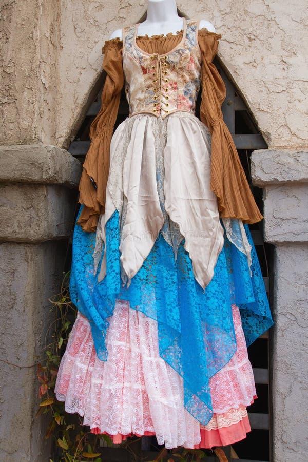 Arizona-Renaissance-Festival-Kostüm lizenzfreies stockbild
