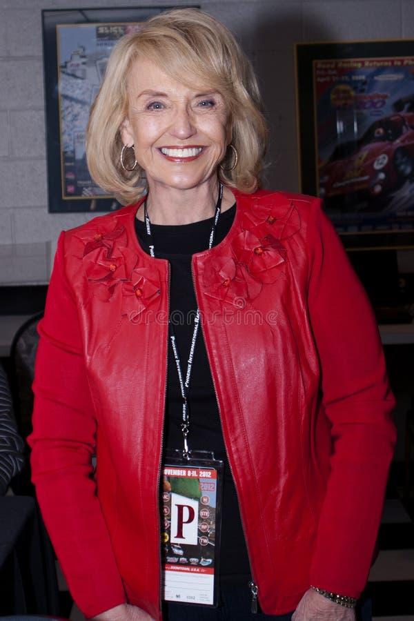 Arizona Republican Governor Jan Brewer royalty free stock photo