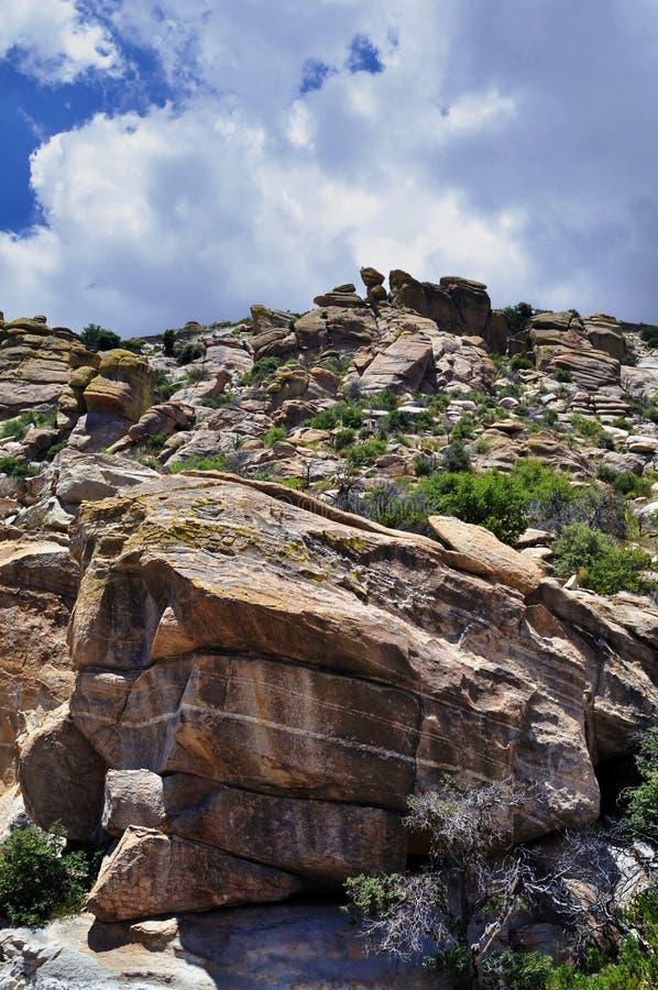 Arizona Rocky Hill royalty free stock photo