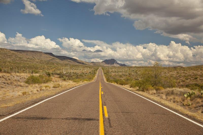 Arizona's Bagdad Road (SR 96) stock photography