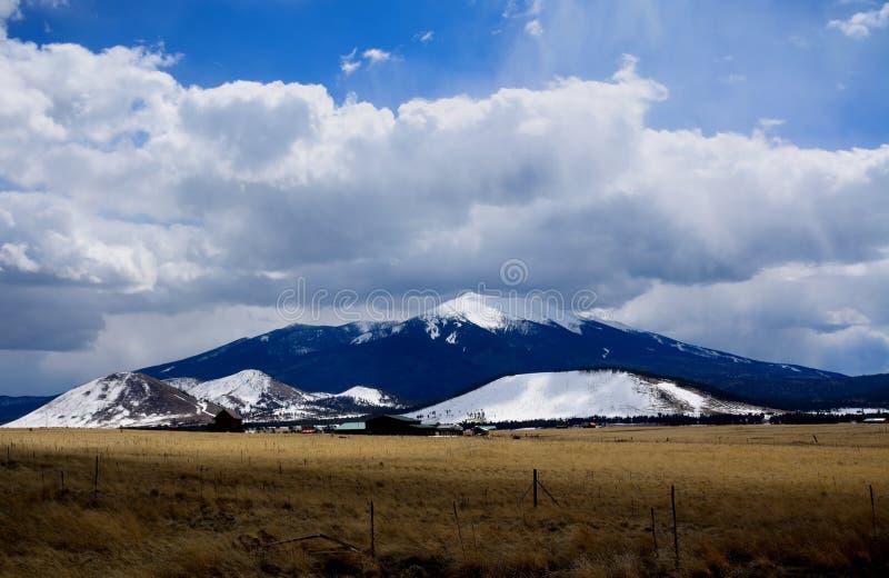 Arizona Snow stock image