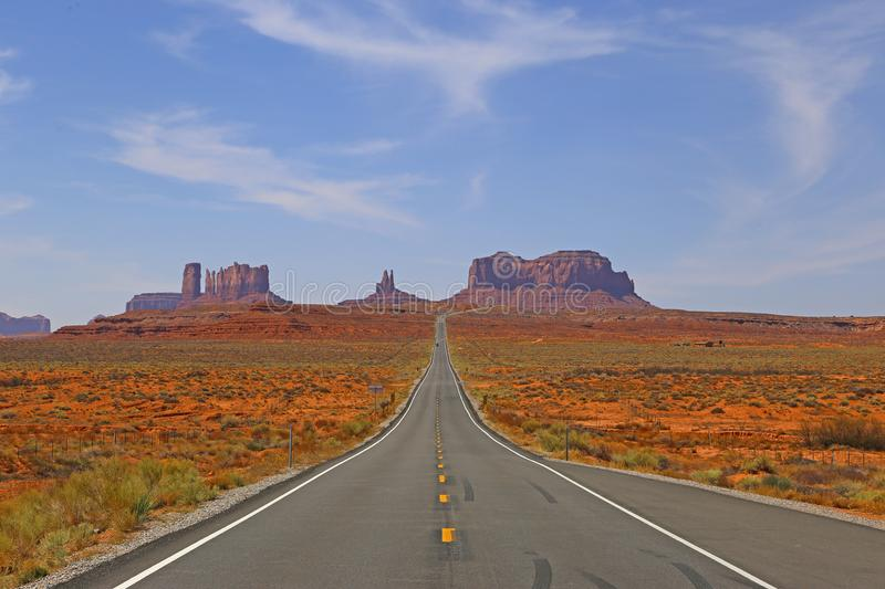 Arizona-/Staat Utah-Linie stockfoto