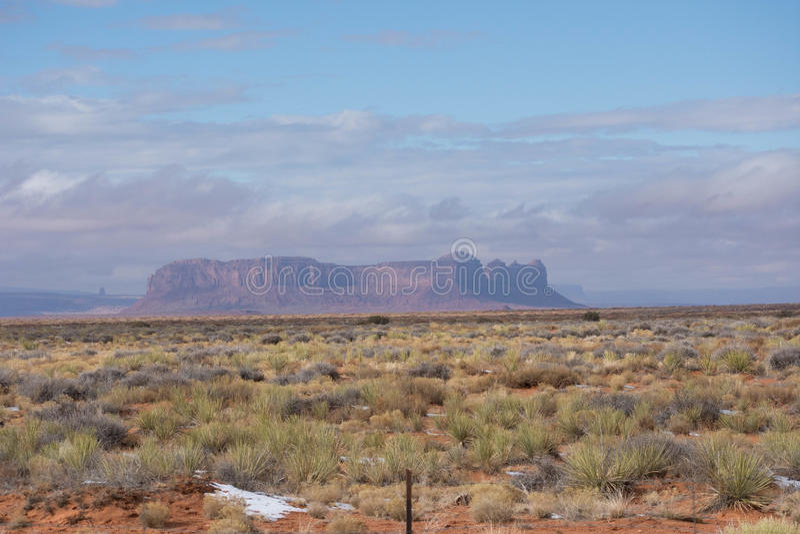 Arizona-/Staat Utah-Linie lizenzfreies stockbild