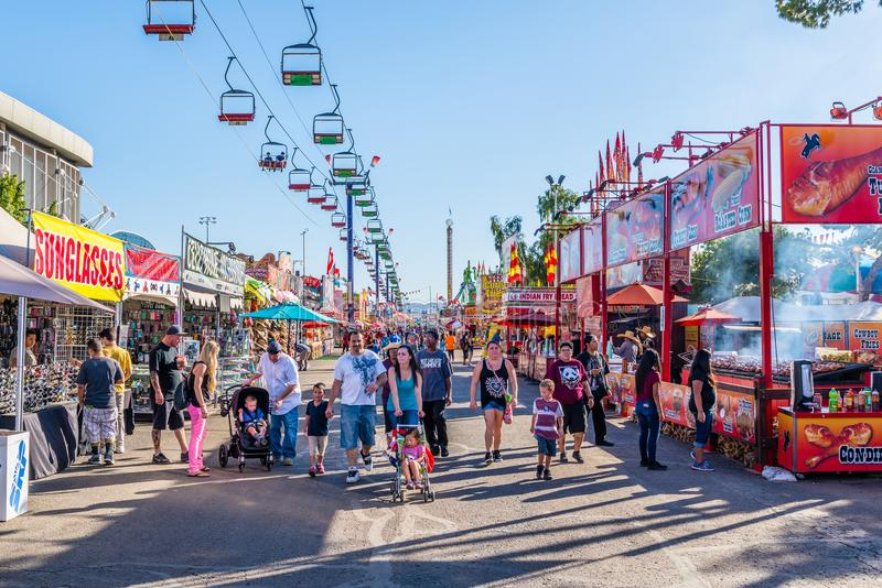 The Arizona State Fair stock image