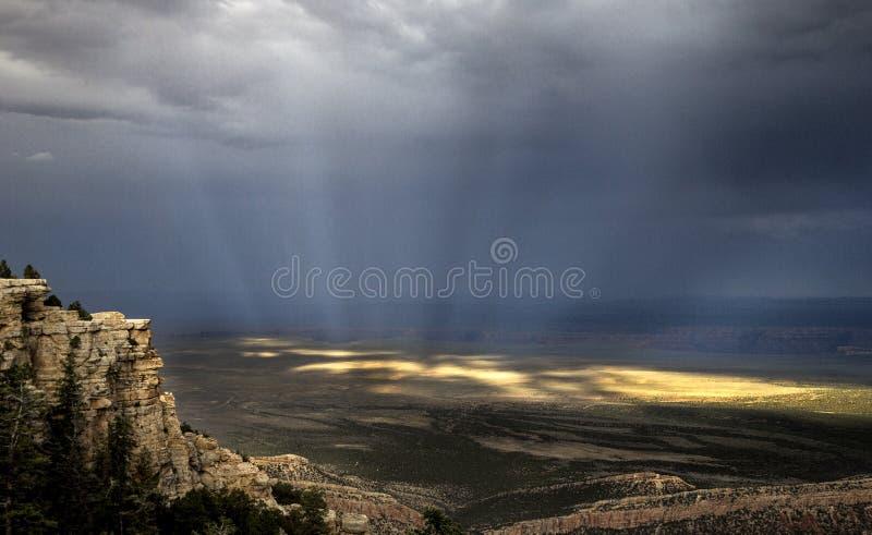 Arizona stormmoln royaltyfria bilder