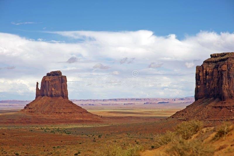 Arizona Surowy krajobraz fotografia royalty free