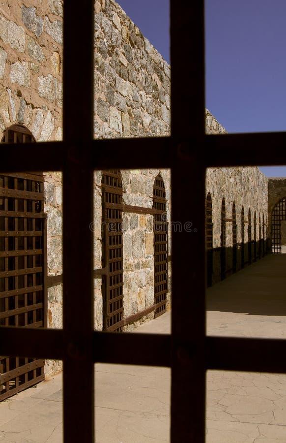 Arizona-territoriales Gefängnis in Yuma, Arizona, USA stockbild