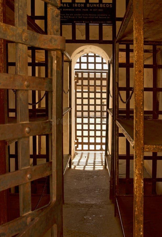 Arizona-territoriales Gefängnis in Yuma, Arizona, USA lizenzfreie stockfotos