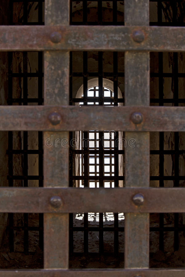 Arizona-territoriales Gefängnis in Yuma, Arizona, USA stockbilder