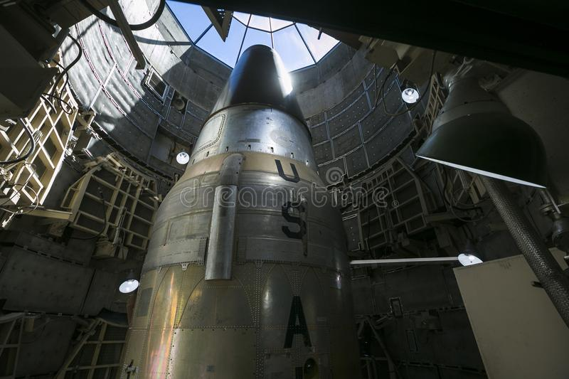 Arizona - titan missile museum stock photo