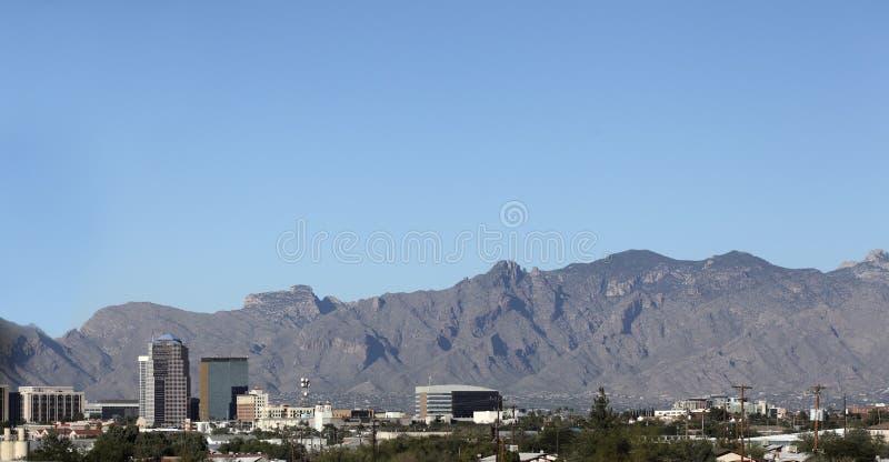 Arizona, Van de binnenstad van Tucson royalty-vrije stock afbeeldingen