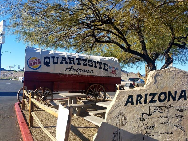 Arizona-W?ste lizenzfreies stockfoto
